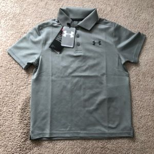 Youth small under armour Polo shirt NWT
